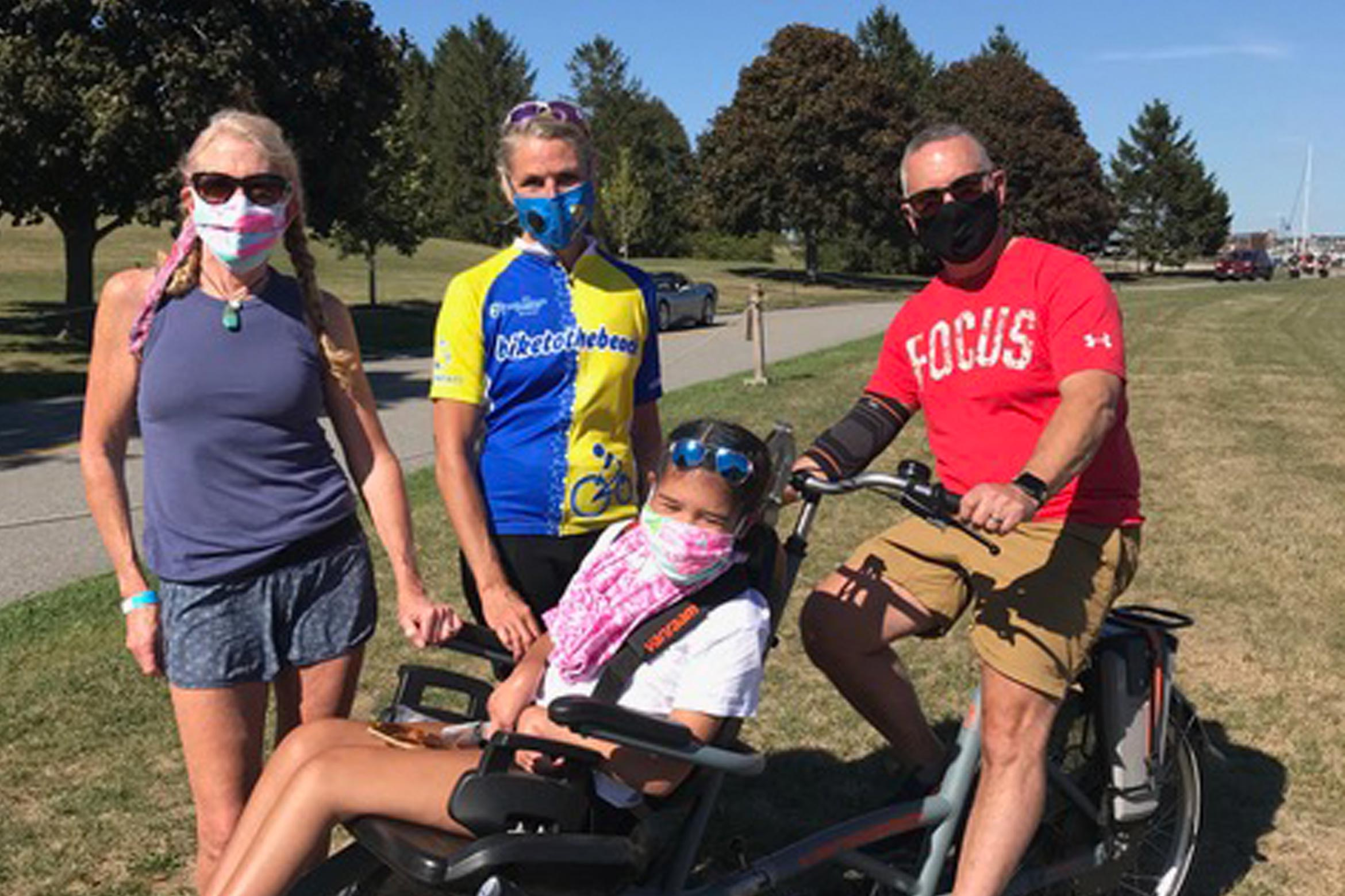 Alison Darrell '82 - Bike to the Beach for Autism